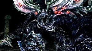 Dark Souls Manus Boss Fight (4K 60fps)