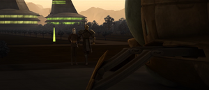 Dooku escorting