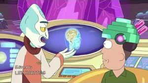 Rick and Morty Beth and jerry monster