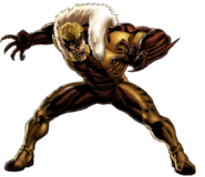 Sabretooth transparent