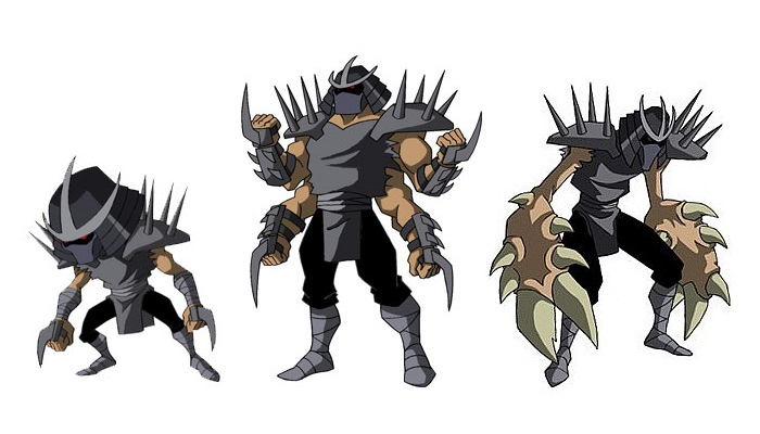 Teenage Mutant Ninja Turtles Shredder Toy : Shredder clones villains wiki fandom powered by wikia