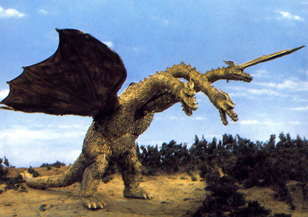 Image result for King Ghidorah