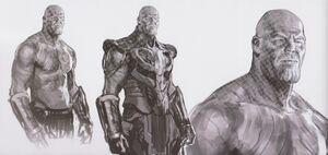 Avengers Infinity War Thanos concept art 16