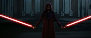 Darth Sidious duelist