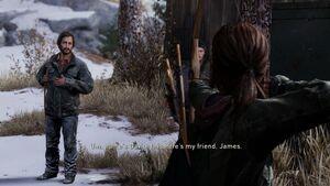David meets Ellie