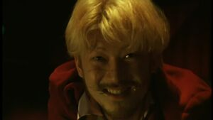 Kakihara's grin