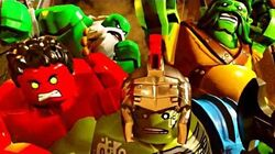 LEGO Marvel Super Heroes 2 Walkthrough Part 15 - HULK ARENA (Red King Boss Fight)