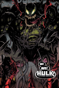 Bruce Banner (Earth-616), Venom (Klyntar) (Earth-616) from Absolute Carnage Vol 1 3 0001