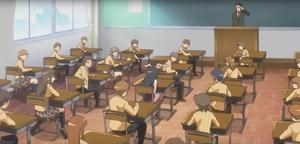 Chizuru in class