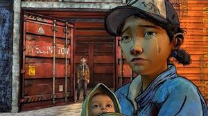 Clementine Stays in Wellington Final Ending 1 (Walking Dead Kenny Leaves Telltale Games)