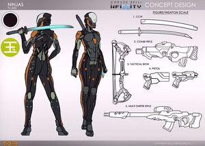 Female Ninja (Infinity)