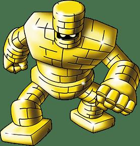 Gold golem