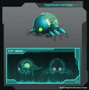 Juvenile Cy-Bug