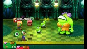Mario & Luigi Superstar Saga + Bowser's Minions Boss 5 Queen Bean