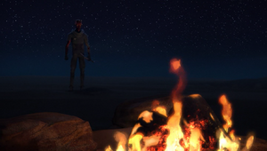 Maul campfire