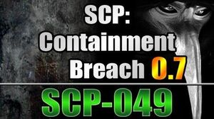 SCP-049 in SCP Containment Breach v0