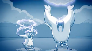 Sensei and Tusk Master Snow