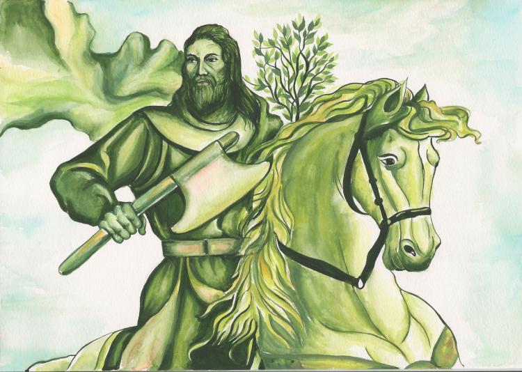 who wrote sir gawain and the green knight