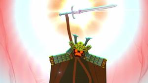 Takagami and sword of destiny