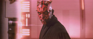 Darth Maul scowl