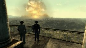 FO3 Power of the Atom - Megaton explosion