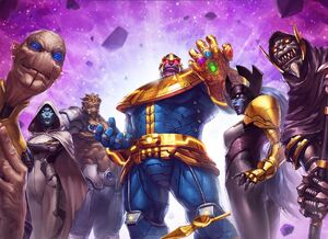Marvel Future Fight The Black Order Wallpaper