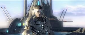 Nanite Nick Fury pre-showdown