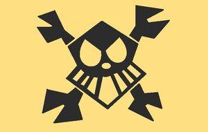 Robot pirate flag by b3xhotshot