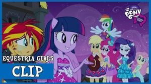Twilight shows to Sunset the Magic of Friendship MLP Equestria Girls HD