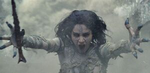 Ahmanet from The Mummy