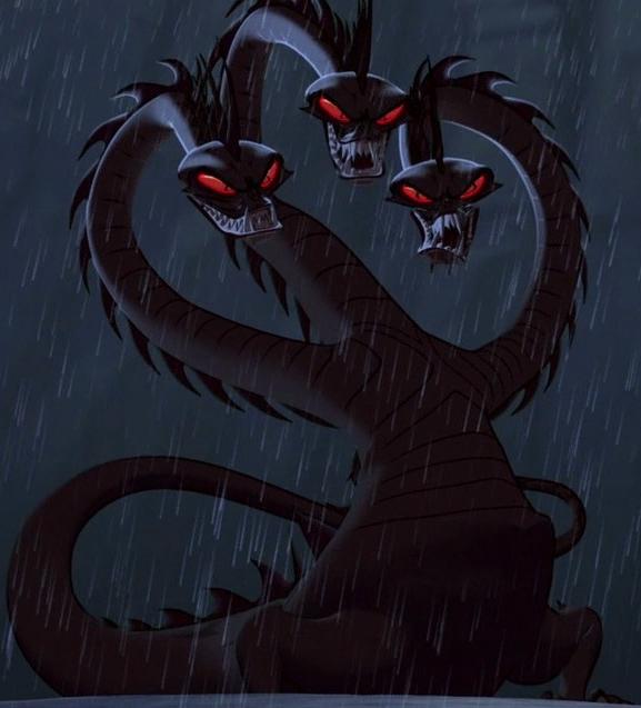 a hydra headed evil