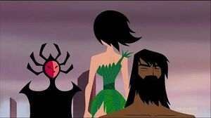 Samurai Jack - Ashi Vs Her own mother The High Priestess (Clip) XCVIII