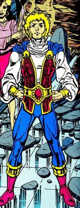 Villain Jericho TT comic 80s