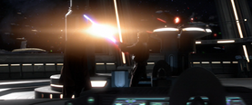 Anakin dueling