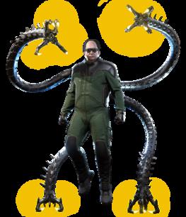 Doctor Octopus from MSM render