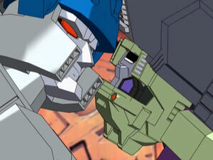 Megatron and Demolishor (Energon Series)