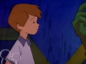 Scared christopher robin