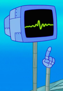 SpongeBob SquarePants Karen the Computer with Arms