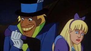 Batman vs Mad Hatter
