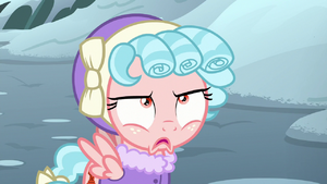 Cozy Glow's expression sours S9E8