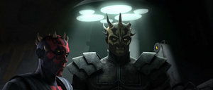 Darth Maul introduces
