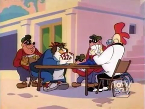 SteelBeak, Amonia Pine, and Beagle Boys