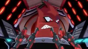 Ch'rell controls Utrom Shredder armor