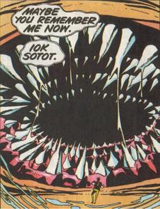 Iok Sotot, Lloigor (2000 AD Comic)