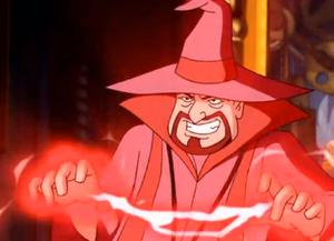 Krudsky casting a spell