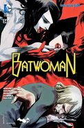 Nocturna draining Batwoman