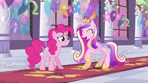 Princess Cadance super cute expression S2E25