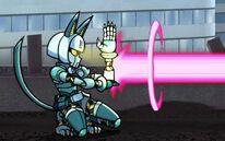 Robo-Fortune laser