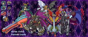 7 Great Demon Lords