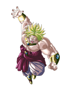 Broly LSSJ Artwork